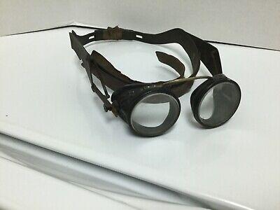 ViTG MSA Safety Head Speed Frame Eye Shields Goggles Glasses Steampunk
