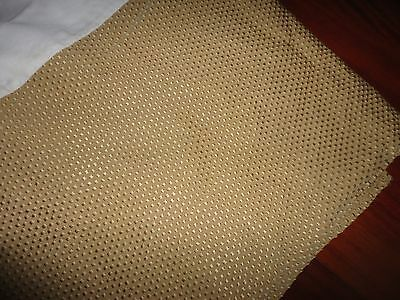 Veratex Gold Dots Textured Queen Bedskirt 15  Drop Split Corner