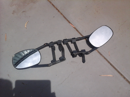 Tow mirrors, ideal for caravan owner