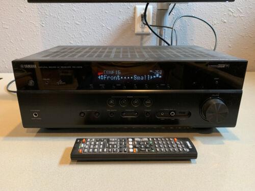 Yamaha RX-V575: Receiver
