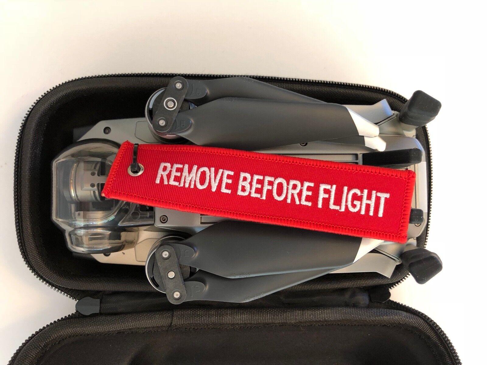 DJI Mavic 2 Pro / Zoom ..Gimbal Saver.... Remove Before Flight... Warning Ribbon