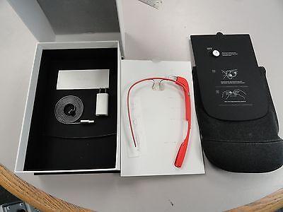 Google Glass Tangerine, Model XE-C, Explorer Edition Titanium Frame
