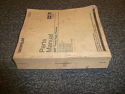 Cat Caterpillar D9t Track Type Crawler Tractor Parts Catalog Manual Manual Book
