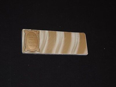 Vintage MERRILL HAWLEY AND CO Advertising CLEVELAND OHO Ink Blotter (j624)