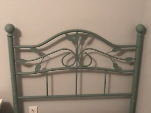 Twin/single Girls Headboard and bed frame