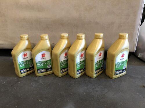 Idemitau 0w-20 Motor Oil 6 Quart New full synthetic