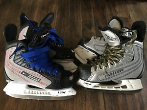 Bauer skates, size 11 and 12