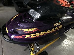 Ski doo formula 3 triple! Only $1400