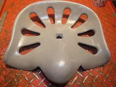 Samuelson Vintage Antique Cast Iron Tractor Farm Implement Seat