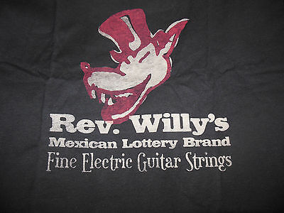 Dunlop Rev Willy's Mexican Lottery T-Shirt size Large NEW!!