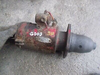 Farmall 300 350 Tractor Good Engine Motor 12v Starter Assembly Ihc