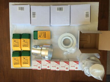 Downlight - 5 new 12v kits (white) with invoice St Ives Ku-ring-gai Area Preview