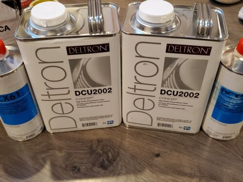 PPG 2 DCU2002 High Solids clear coat BEST PPG CLEAR! 2019/2020 1gallonDT 2 dcx61