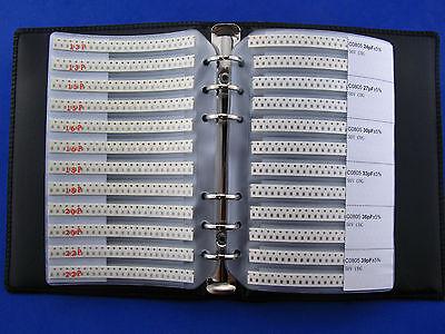 0805 Smd Capacitor Assortment Book Kit 92valuesx50pcs Total 4600 Pcs