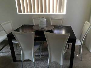 Dining Table + Chairs Gladesville Ryde Area Preview