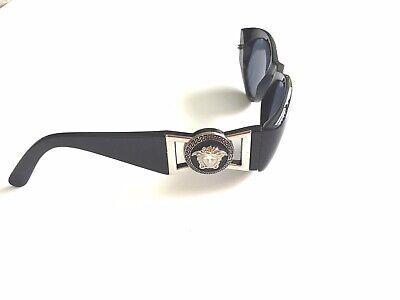 Gianni Versace Sunglasses Vintage 424 Col. Black / Gold