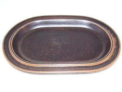 Vintage Arabia Finland Ruska Ulla Procope Pottery Oval Serving Platter Retired