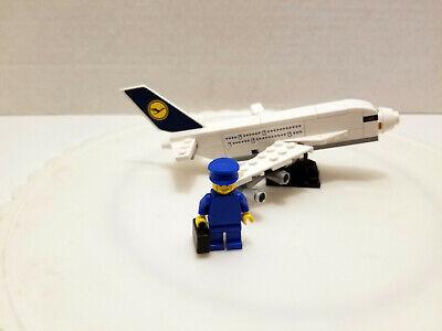 Lego 40146 Lufthansa Plane polybag - 2015 - 100% Build Complete