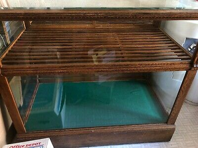 Large Glass Display Case 1880s