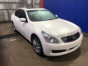 2009 Infiniti G37x All Wheel Drive - Extra Winter Tires on Rims