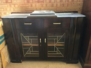 Retro Australian  buffet /China cabinet  with canteen space. Port Kennedy Rockingham Area Preview