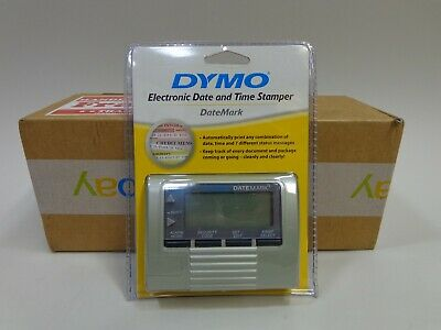 Dymo Datemark Stamp 47002 Electronic Date Time New Factory Sealed Discontinued