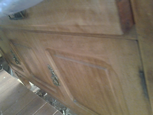 Very old  solid wooden cabinet Normanhurst Hornsby Area Preview