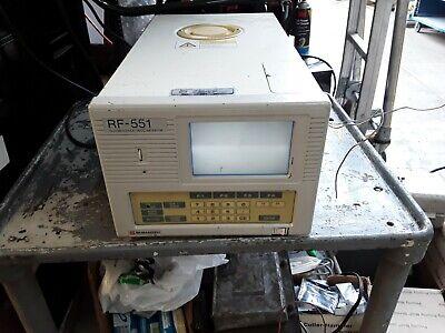 Shimadzu Rf-551 Fluorescence Hplc Monitor