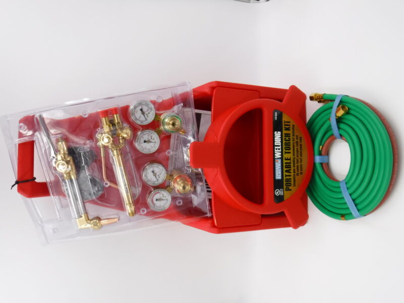 Chicago Electric Portable Welding Torch Kit Without Tanks 65818 87647