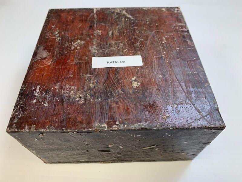 "Bowl Wood- Katalox Turning Wood Bowl Blank Lathe 6"" X 6"" X 3""  Free Shipping!"