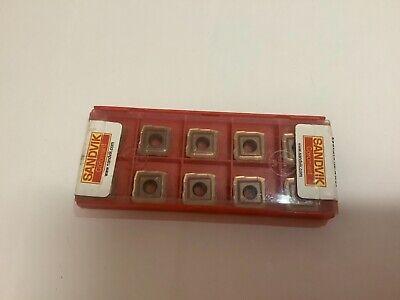 Sandvik 880-07 04 06h-c-lm 1044 Carbide Milling Insert