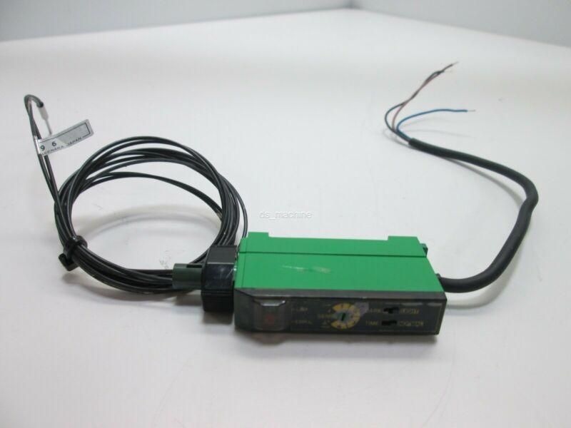 Seeka F1RM-PN Fiber Optic Amplifier With FRSV83BC Fiber Optics, 12-24VDC