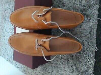 9John lobb shoes arima dune calf deck colour brown size 6.5 E uk