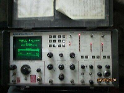 Motorola Model R-2001ahs Communications Service Monitor Used Untested