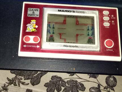 nintendo game and watch mario's cement factory