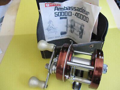 Abu Garcia Ambassadeur 4000D Fishng Reel. Made in Sweden.