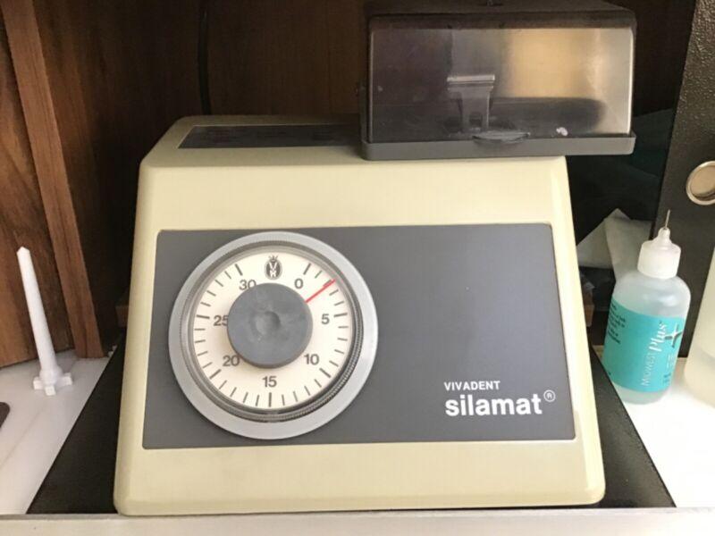 Vivadent Silamat Dental Amalgam Working Lab Amalgamator (Excellent Condition)