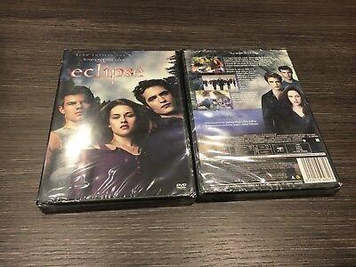 CREPUSCULO ECLIPSE DVD PRECINTADA  NUEVA comprar usado  Enviando para Brazil
