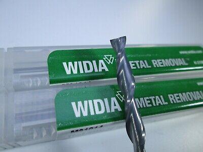 Lot 2 Pcs Widia Carbide End Mills 316 X 1-18 X 3 Long Length Milling