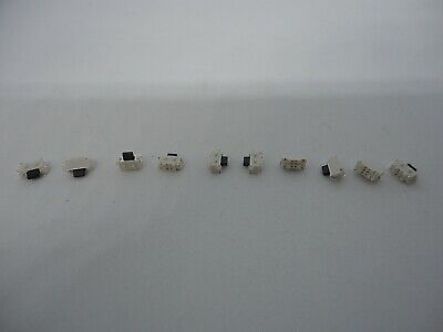 10x Pack Lot 2x4x3.5mm 2 Pin Push Tactile Momentary Micro Button Switch Smd Mp3