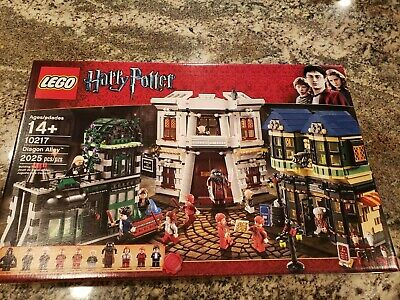 Lego Harry Potter Diagon Alley (10217) NEW SEALED IN BOX, Retired