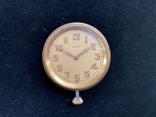 Goering Grenad 8 Days Car Dash Clock Working *Q2AF