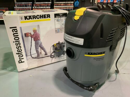 KARCHER - NT 45/1 Tact - 11.5 GALLON PROFESSIONAL WET/DRY VAC DUST EXTRACTOR