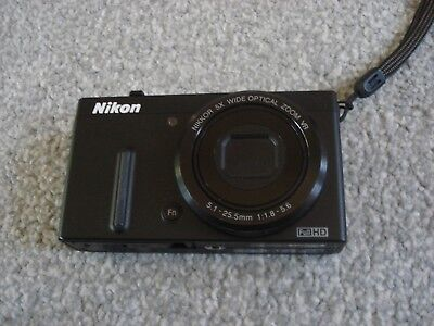 LikeNew Nikon Coolpix P330 Digital Camera - Black