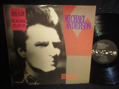 Michael Anderson  Sound Alarm  Lp Promo