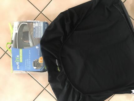 Outlook auto shade - car - curved - x3