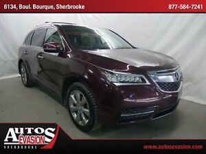 2014 Acura MDX SH-AWD + Elite Package + BAS KILO + 7 PLACES