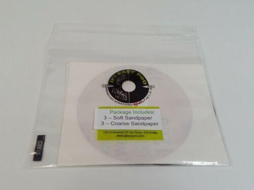 JFJ Easy Pro 3 - Soft Sandpaper & 3 - Coarse Sandpaper Packs Kits