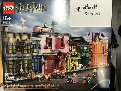 LEGO 75978 Diagon Alley: New in Box + BONUS VIP Holiday Gift Set (5006482)