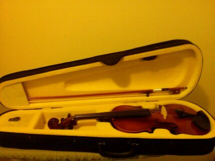 Violin,case,bow,and rosin Manly West Brisbane South East Preview
